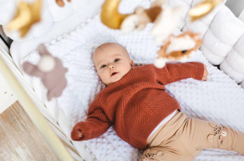 Móviles para cuna bebé estimulación