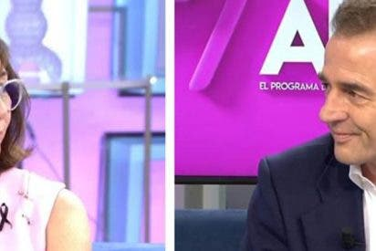 Alessandro Lequio regresa a TV dos semanas después de la muerte de su hijo