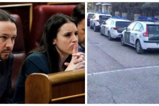 Marlaska protege el casoplón de Iglesias con cinco coches de la Guardia Civil y amenaza con