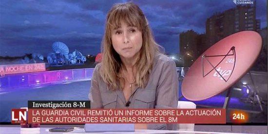 El Canal 24 Horas de TVE permite a Pardo de Vera manchar el nombre de Pérez de los Cobos: