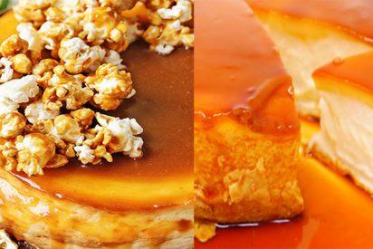 ¡Tarta de caramelo con solo dos ingredientes!