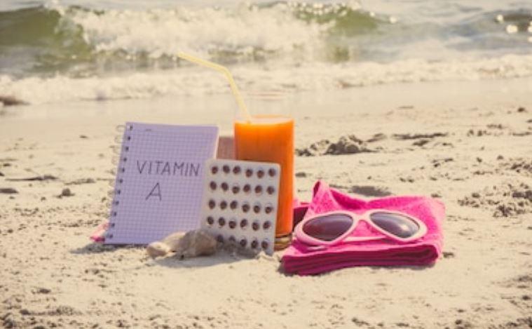 pastillas bronceadoras vitamina A