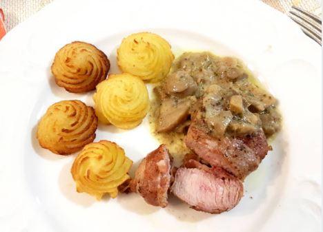 patatas duquesa con carne