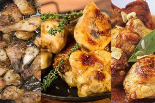 Pollo al ajillo: La receta de la abuela