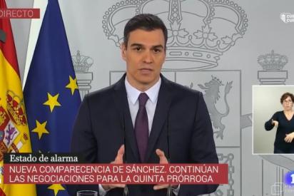 Sánchez presume en su 'Aló presidente' de haber evitado con su estado de alarma 300.000 muertos