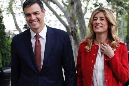 Begoña Gómez, 'Reina' de España: confinada con tests, médico, en 8 habitaciones, 9 baños y 3 vestidores