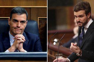 """Casado: """"Hasta aquí llegamos, señor Sánchez, no le apoyaremos para arruinar a España"""""""