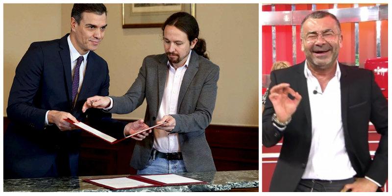Las cuatro escalofriantes verdades que Sánchez e Iglesias esconden mientras nos entretienen con el tomateo de Jorge Javier