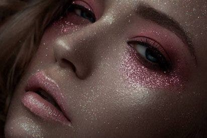 Diferencia entre shimmer y glitter