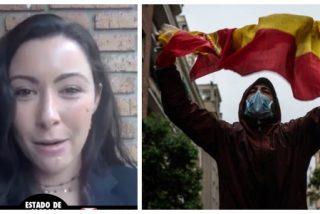 """La valiente de 'Núñez de Balboa': """"A este Gobierno le da mucho miedo que estemos unidos luchando por nuestra libertad"""""""