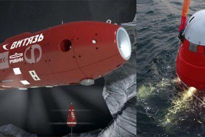Submarino ruso conquistó el abismo más profundo de la Tierra: 10.028 m de profundidad