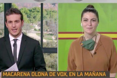 """Al sustituto de María Casado le hace poca gracia que Macarena Olona le cambie el nombre: """"David es bonito, pero yo me llamo Diego"""""""