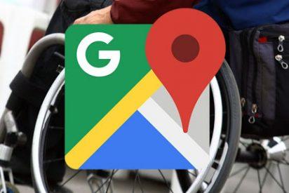 Google Maps 'estrena' icono para mostrar los espacios accesibles para sillas de ruedas