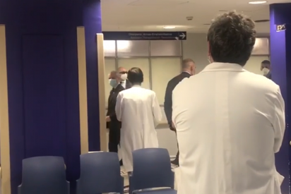 """Los sanitarios dejan en 'fase cero' la popularidad de Urkullu: le echan del hospital con gritos de """"fuera, fuera"""""""