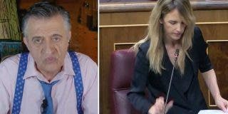 Wyoming sale en auxilio del padre de Pablo Iglesias y amenaza a Cayetana Álvarez de Toledo