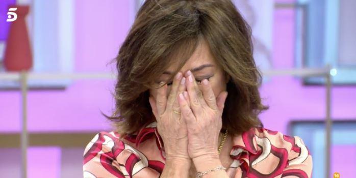 """Ana Rosa Quintana rompe a llorar en una despedida muy emotiva: """"No ha sido fácil"""""""
