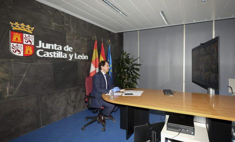 Castilla y León contará con un plan postalarma para garantizar la seguridad sanitaria