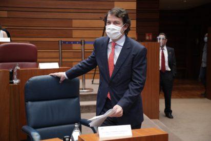 Mañueco exige al Gobierno que los Ertes se amplíen en los sectores más afectados por la pandemia