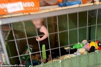 La Policía encuentra a un niño enjaulado con 600 animales: incluida una peligrosa boa