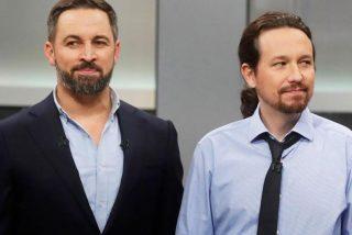 Twitter hace un traje a Pablo Iglesias por intentar burlarse de las pintas de Abascal