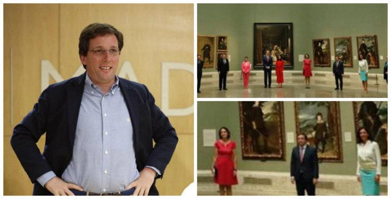 El fino sentido del humor de Martínez-Almeida frente al troleo en el Museo del Prado