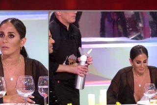 El tremebundo descuido de Anabel Pantoja calienta 'La última cena'