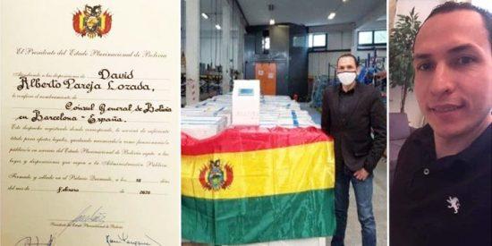 Arrestan al cónsul de Bolivia en Barcelona por el sobreprecio en la compra de respiradores artificiales de España