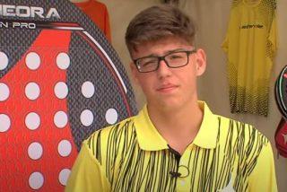Muere de cáncer a los 17 años Alejandro Gama, gran promesa del pádel español