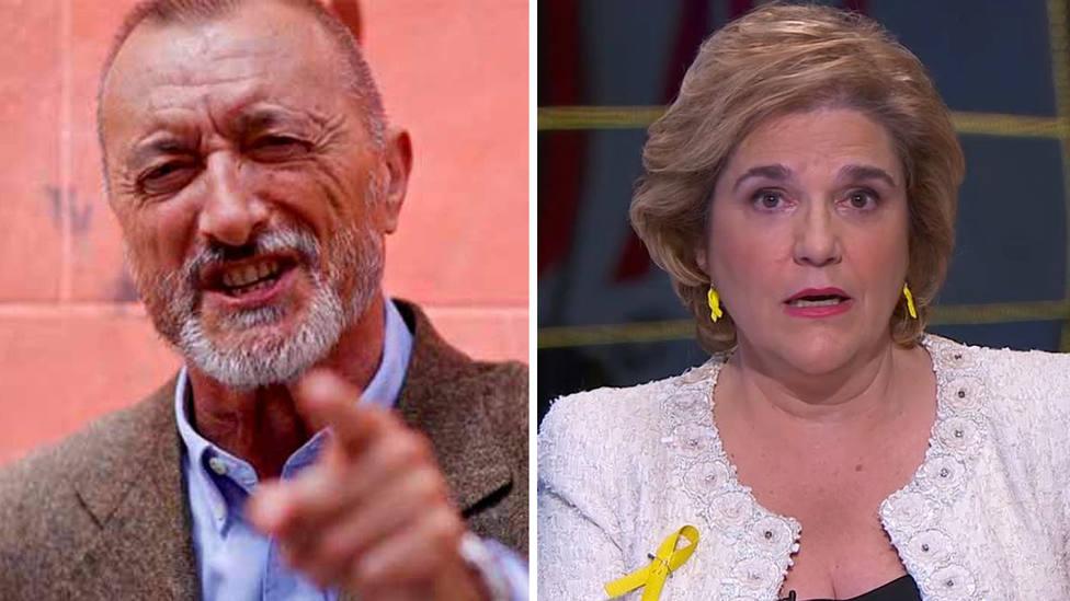 "Arturo Pérez-Reverte: ""Pilar Rahola pasó sin ducharse de la política al periodismo"""