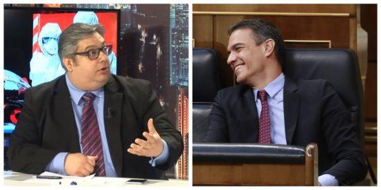 """El economista Fran Simón desmonta los engaños del Gobierno: """"La quiebra del sistema es cuestión de tiempo"""""""