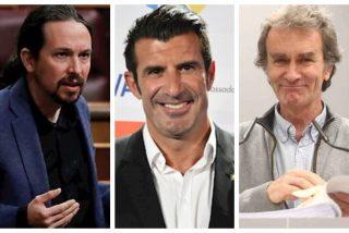 Tremendo repaso de Luis Figo a la última majadería de Podemos: condecorar a Fernando Simón