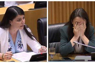 """Macarena Olona 'revienta' a Irene Montero en el Congreso y se ríe de ella después en Twitter: """"Jo, tía"""""""