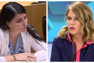 "El 'nivelazo' de Esther Palomera faltando el respeto a la diputada de VOX: ""Olona, Olana o como se llame..."""