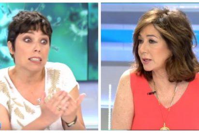 """Ana Rosa Quintana 'vacuna' a Marta Nebot con esta dosis de sinceridad: """"Si tú y yo estuviéramos de acuerdo, tendríamos que ir al médico"""""""