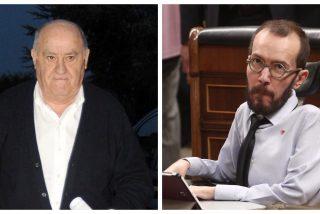 ¡Enfermiza obsesión con Amancio Ortega! Echenique duda de la solidaridad del empresario gallego