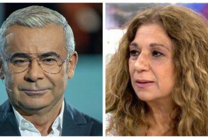 """Jorge Javier Vázquez, sin palabras después de la crítica de Lolita Flores: """"No tenían que haber dejado la manifestación del 8 de marzo"""""""
