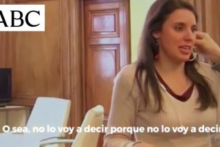 Pillan a Irene Montero confesando que en el 8-M ya había riesgo de contagio: