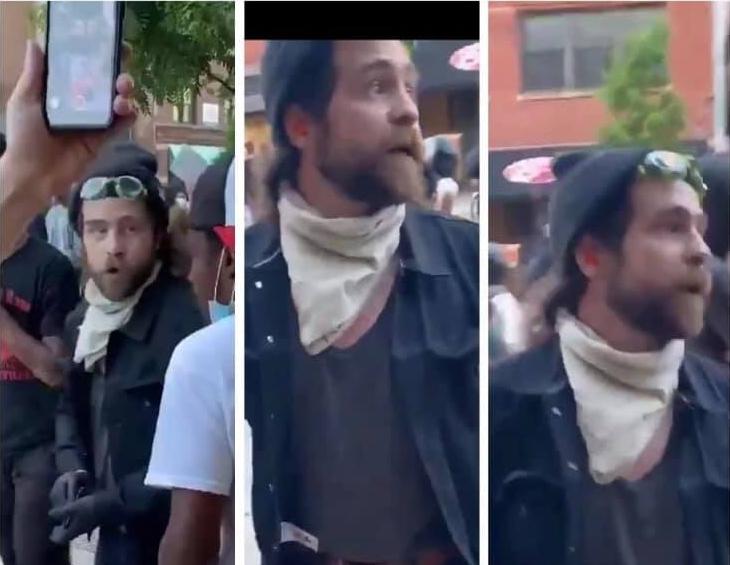 EEUU: la Policía, tras el hombre que paga a los manifestantes del 'Black Lives Matter' para quemar, romper y saquear