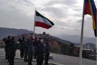 La dictadura de Maduro iza una bandera de Irán en el Helicoide, su prisión política