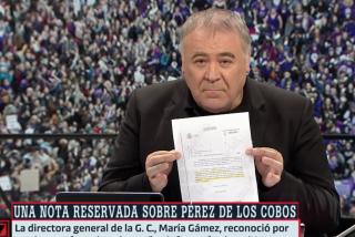 Marlaska mintió, Ferreras muestra indignado los papeles... ¿pero cuándo piensa dimitir Rajoy?
