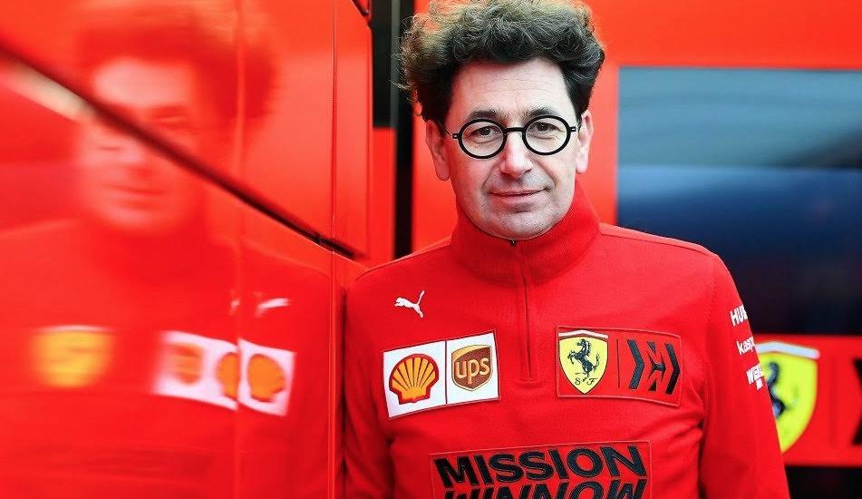 """Mattia Binotto: """"Carlos Sainz puede ser campeón del mundo con Ferrari"""""""