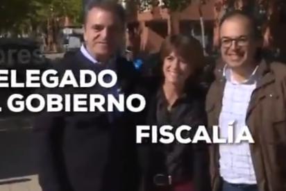 El vídeo más demoledor para Dolores Delgado: así abraza a su 'protegido' en el juicio del 8-M