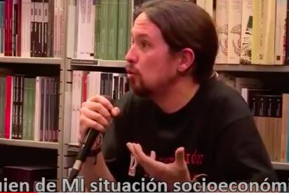 Abascal publica un brutal vídeo de Pablo Iglesias que acerca a Podemos al banquillo de los acusados