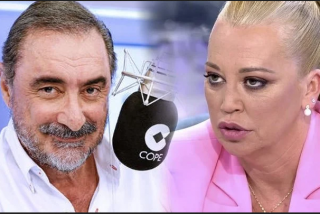 Carlos Herrera tienta a Belén Esteban para llevársela a COPE, ante el acoso de Javier Vázquez en Telecinco