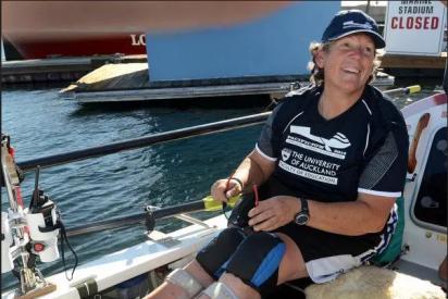 Angela Madson: Encuentran muerta y atada a su barca a la famosa remera paralímpica de 60 años