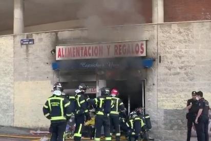 Vallecas: un chino fallece quemado en su local de 'Alimentación' tras exigir el pago del alquiler a la inquilina