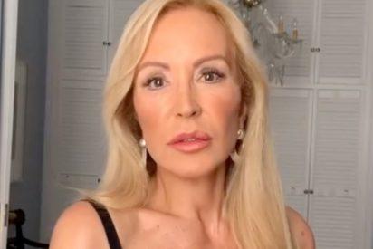 """La petición que Carmen Lomana hizo a algunos políticos durante el estado de alarma: """"Ninguno me hizo caso"""""""