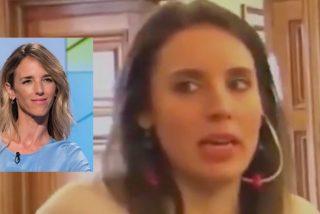 Cayetana Álvarez de Toledo se burla de la 'marquesa de Galapagar' Irene Montero: