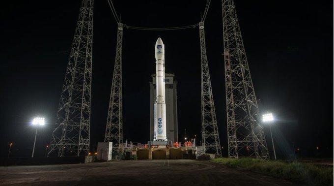 El cohete 'Vega' pondrá en órbita un microsatélite español el 17 de agosto