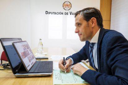 """La Diputación de Valladolid aprueba un """"plan de choque"""" con el objeto de paliar los efectos del Covid 19"""